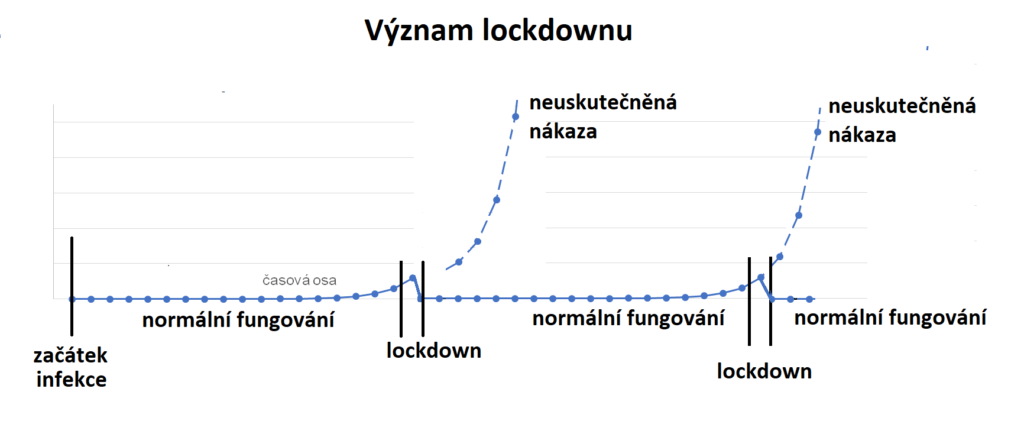 Význam lockdownu v řešení pandemické situace COVID-19