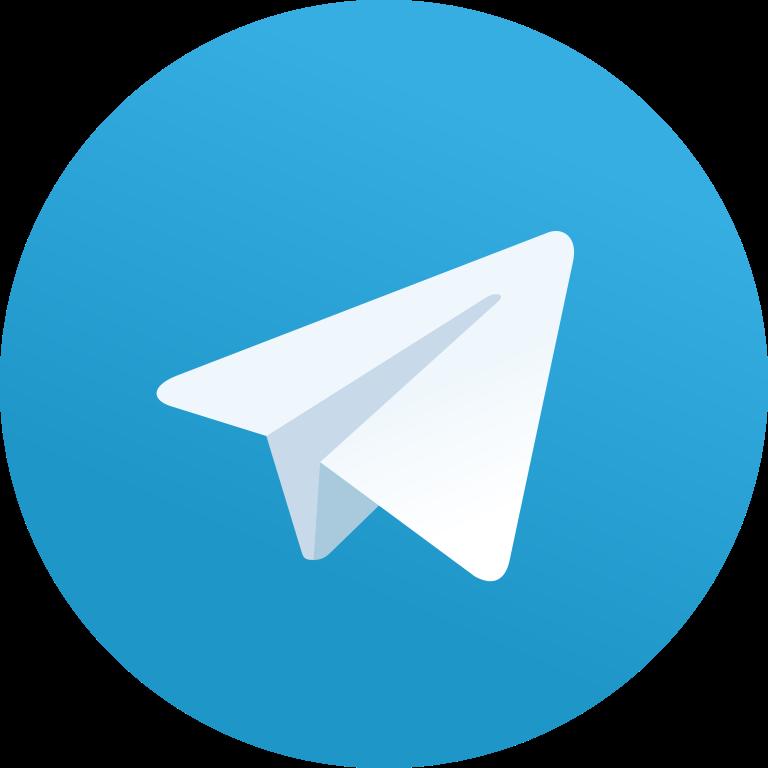 Kanál stránky na službě Telegram.org